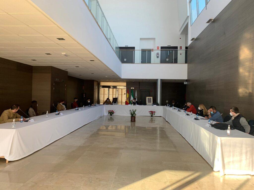 Sesión plenaria en La Mojonera.