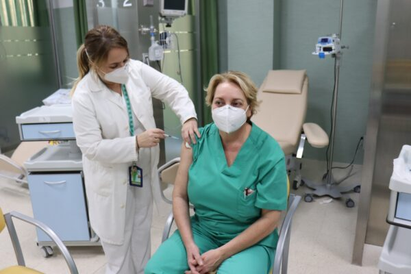 Vacunación frente al Covid.