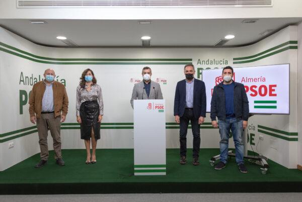 Antonio Gutiérrez, Carmen Aguilar, Juan Antonio Lorenzo, Marcelo López y Juan Manuel Ruiz