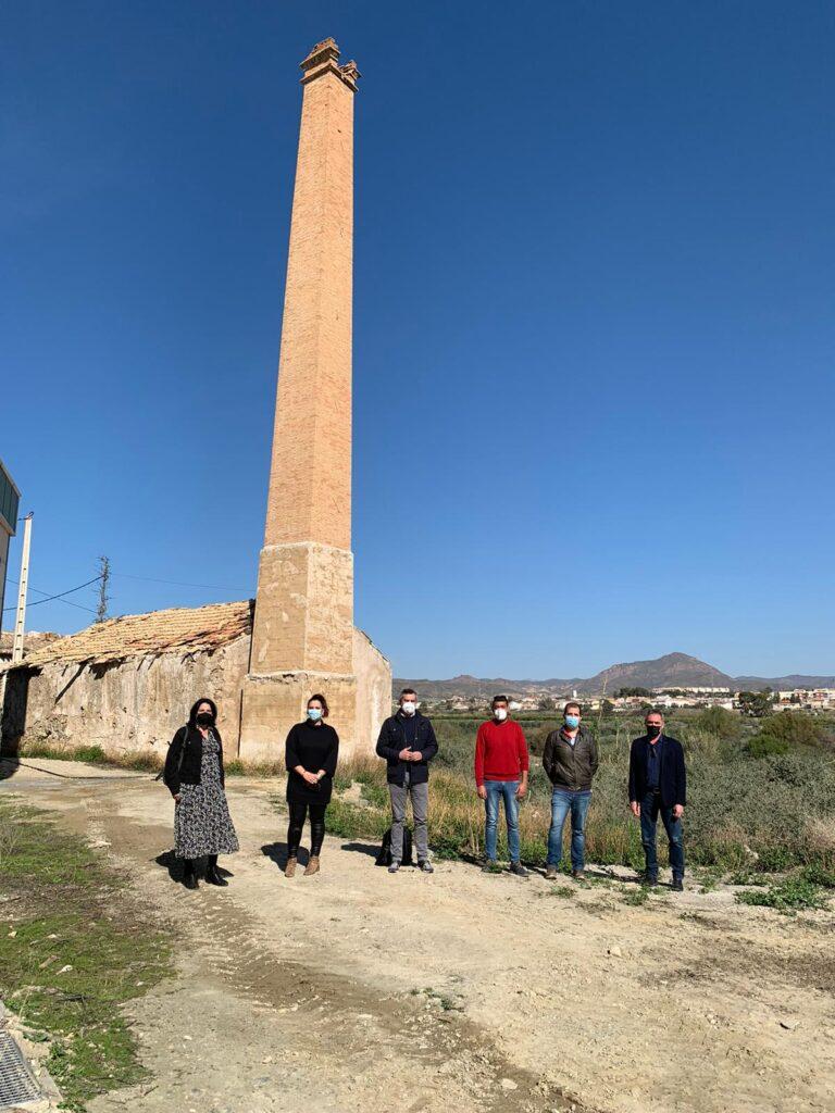 210329 foto PSOE Diputación. Visita a Zurgena