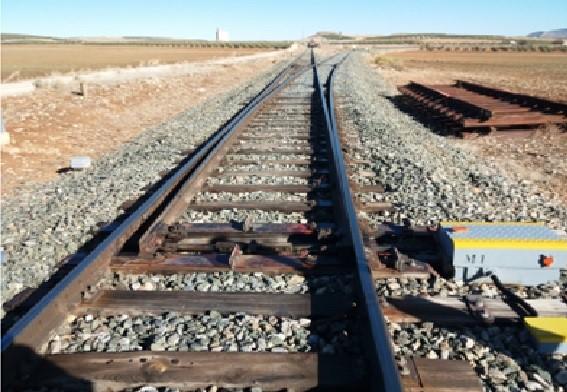 Bifurcación línea en Almería