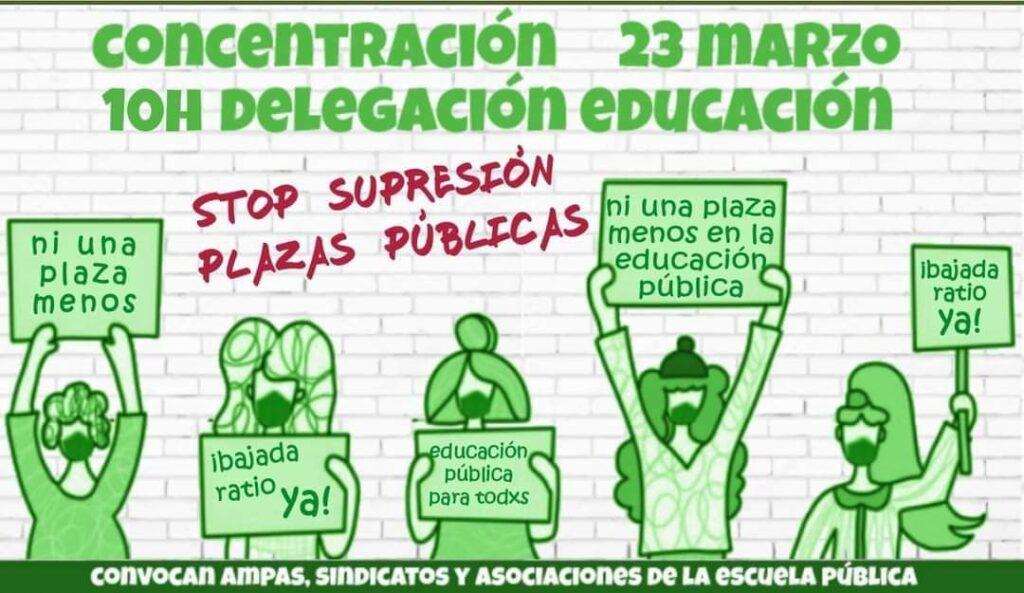 cartel manifestación día 23