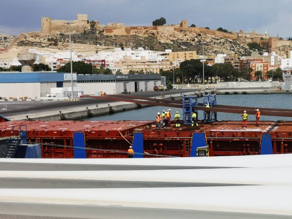 Puerto de Almería.