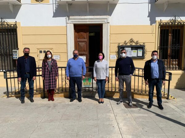 210406 Foto PSOE Diputación. Visita a Cantoria