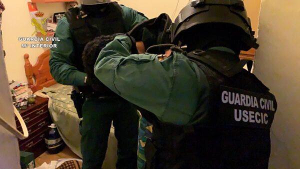 Detenido en operación de la Guardia Civil.