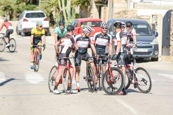 Imagen de archivo de la vuelta ciclista a Almería