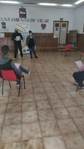 Programa de atención social en Vícar