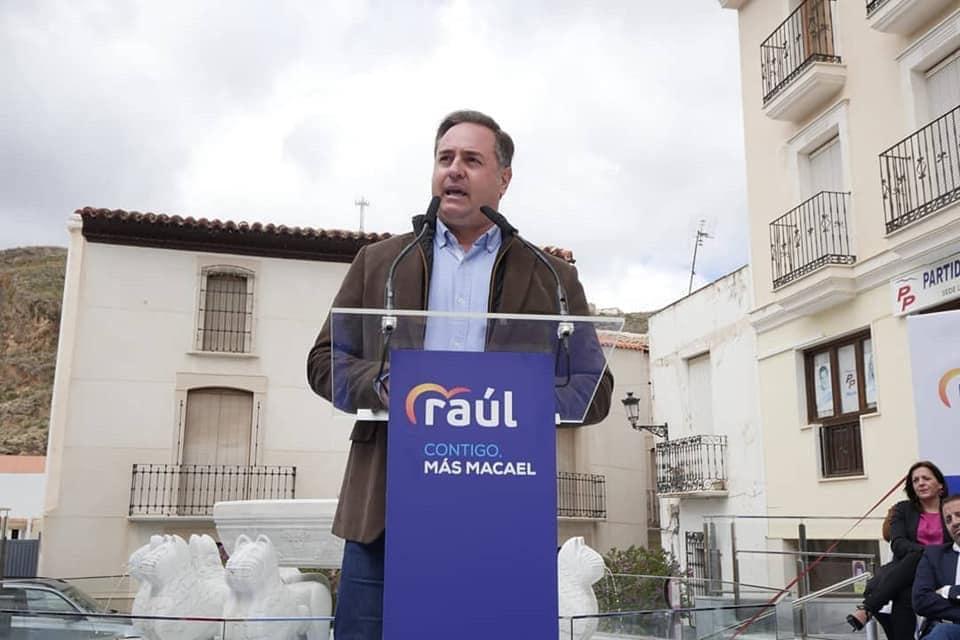 Raúl Martínez Requejo, alcalde de Macaeljpg