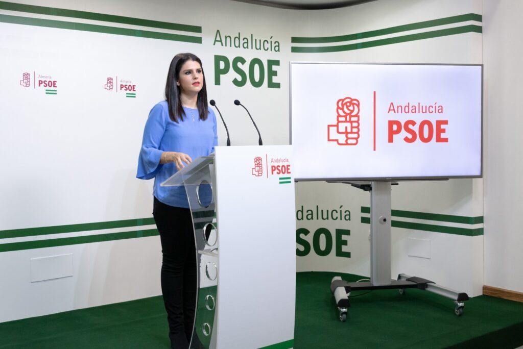 Noemí Cruz, parlamentaria del PSOE de Almería