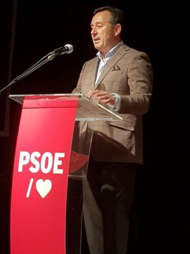 foto PSOE Olula del Río, Diego Castaño