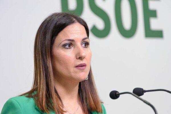 Inés Plaza, senadora del PSOE de Almería.