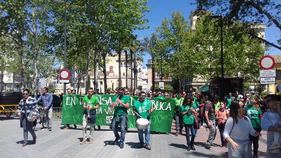 Archivo de una manifestación por la Escuela Pública