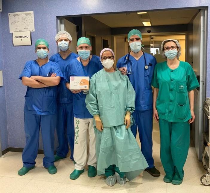 Equipo de la cirugía mamaria