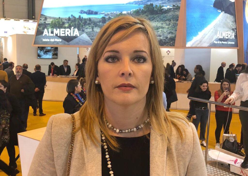 Teresa Piqueras, en FITUR