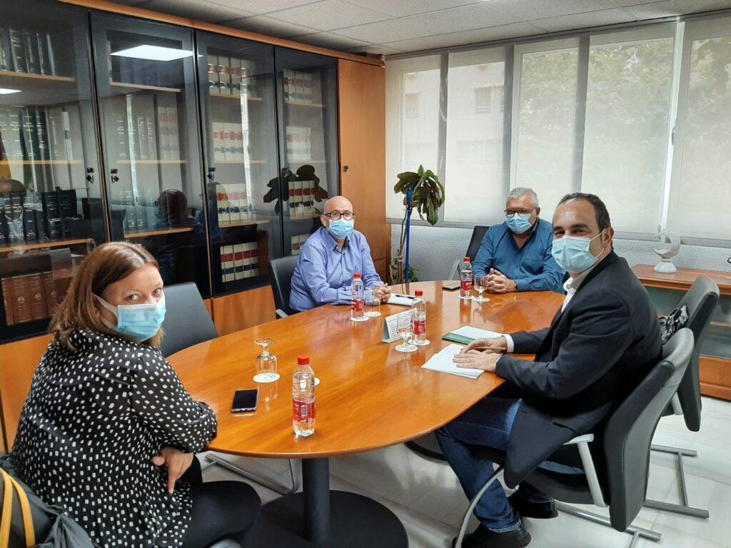 Reunión delegado Empleo alcalde Carboneras necesidades formativas may21