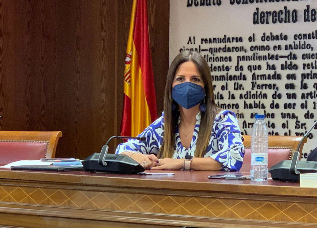 Inés Plaza, senadora del PSOE de Almería