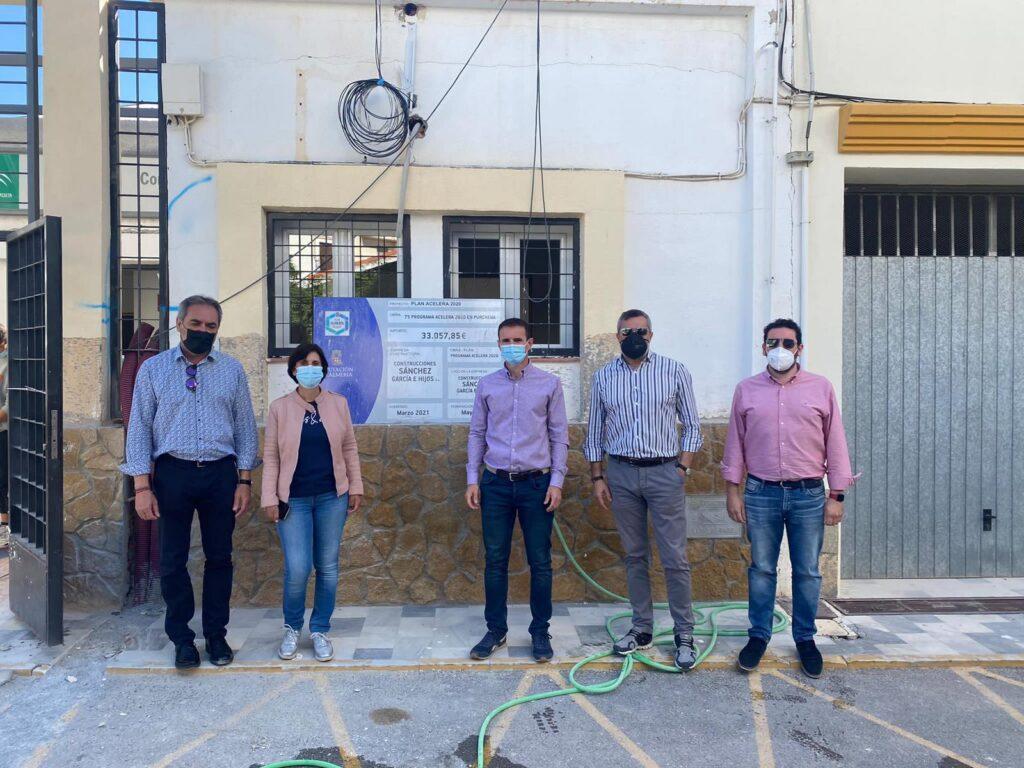 Visita Grupo Socialista de Diputación a Purchena