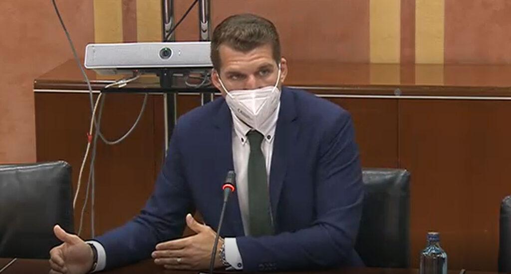 José Manuel Montero, Fuente Victoria en Comisión Parlamentaria