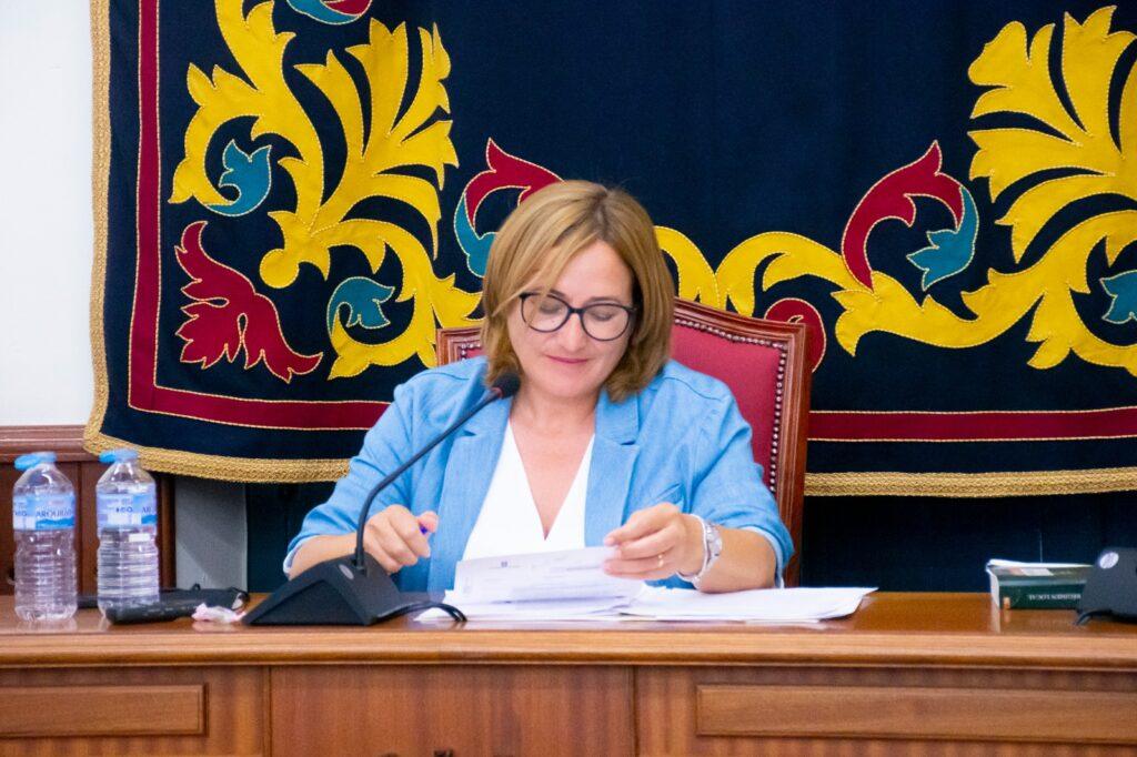 Esprenza Pérez, alcaldesa en el Ayuntamiento de Níjar