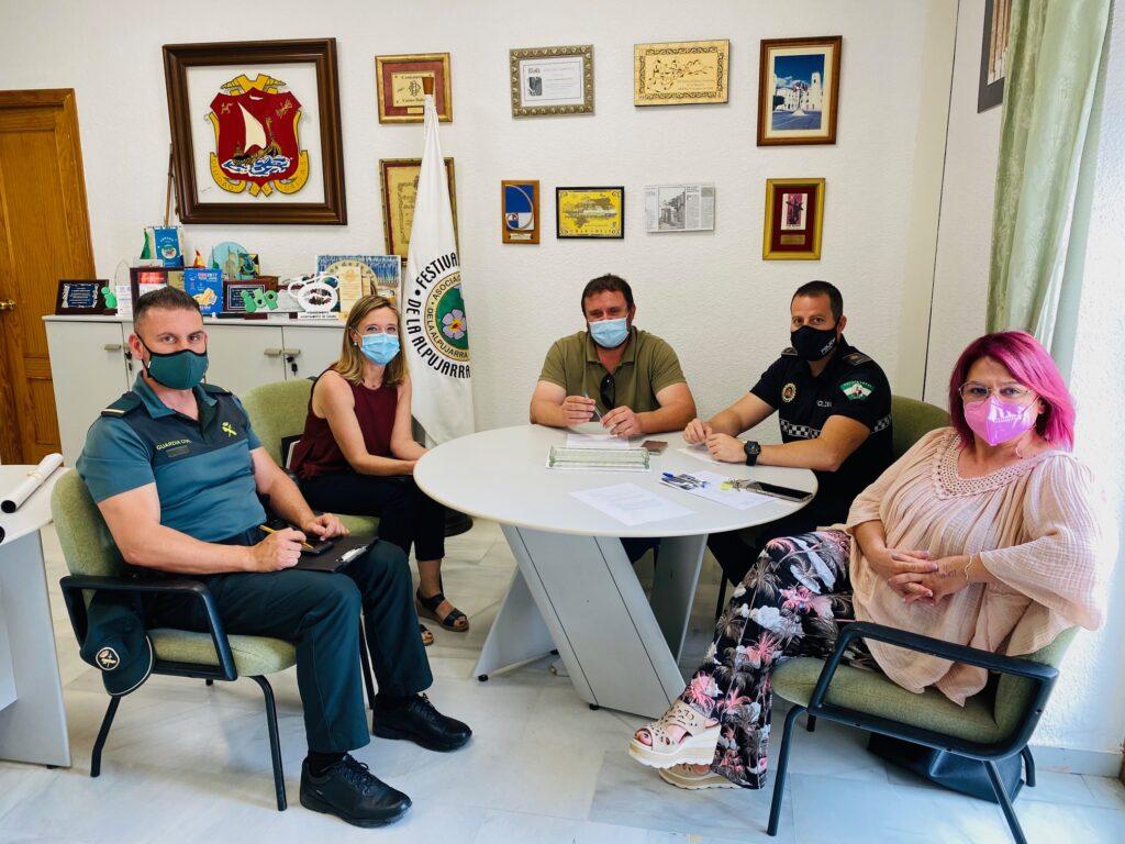 Comisión de seguimiento programa Viogen de Dalías.
