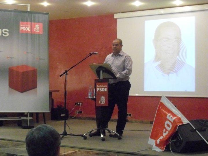 Juan Herrero, portavoz del PSOE en Fines