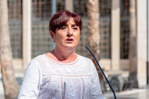 Maribel Carrión, portavoz del Grupo Socialista en el Ayuntamiento de El Ejido