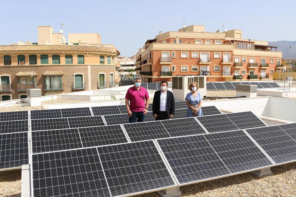 Placas solares en la guardería de Viator