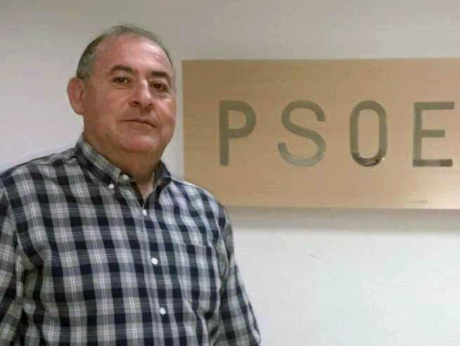 Luis Miguel Cáceres, portavoz del PSOE en el Ayuntamiento de Pulpí