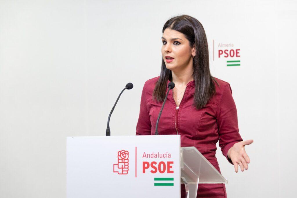 Noemí Cruz, diputada autonómica del PSOE de Almería