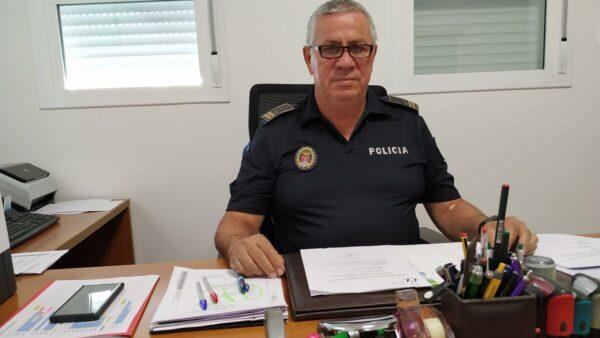 Diego Muñoz, subinspector de Policía Local