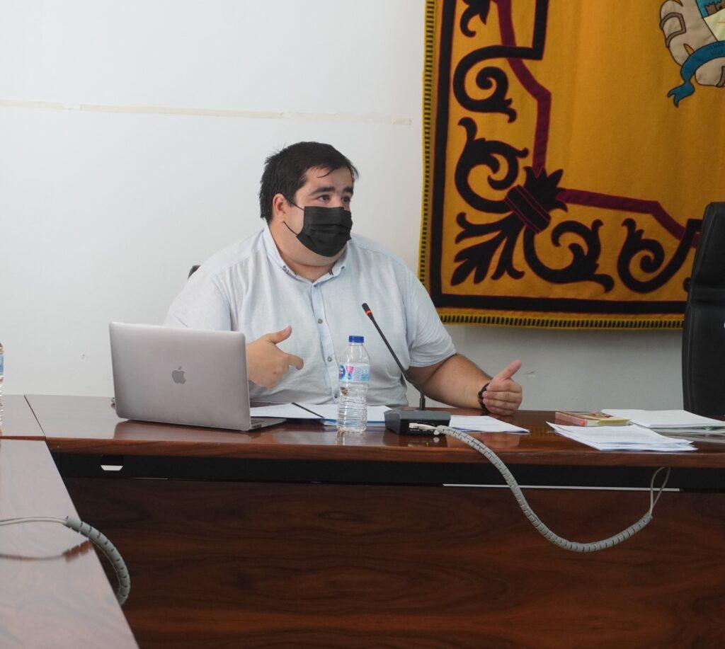 Ramón Soto, concejal socialista en pleno