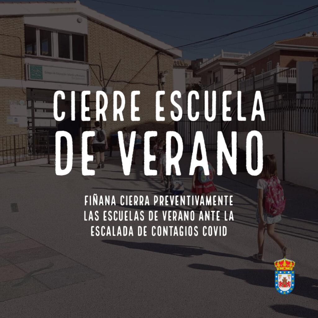 Cierre de escuela de Verano de Fiñana