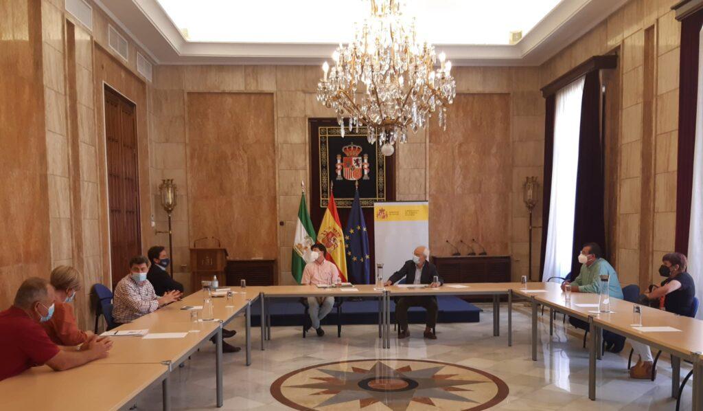 Reunión Subdelegación Costas Ayuntamiento El Ejido