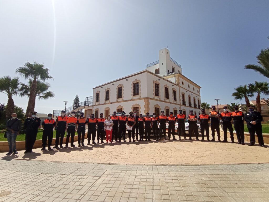 Protección Civil en Huércal de Almería