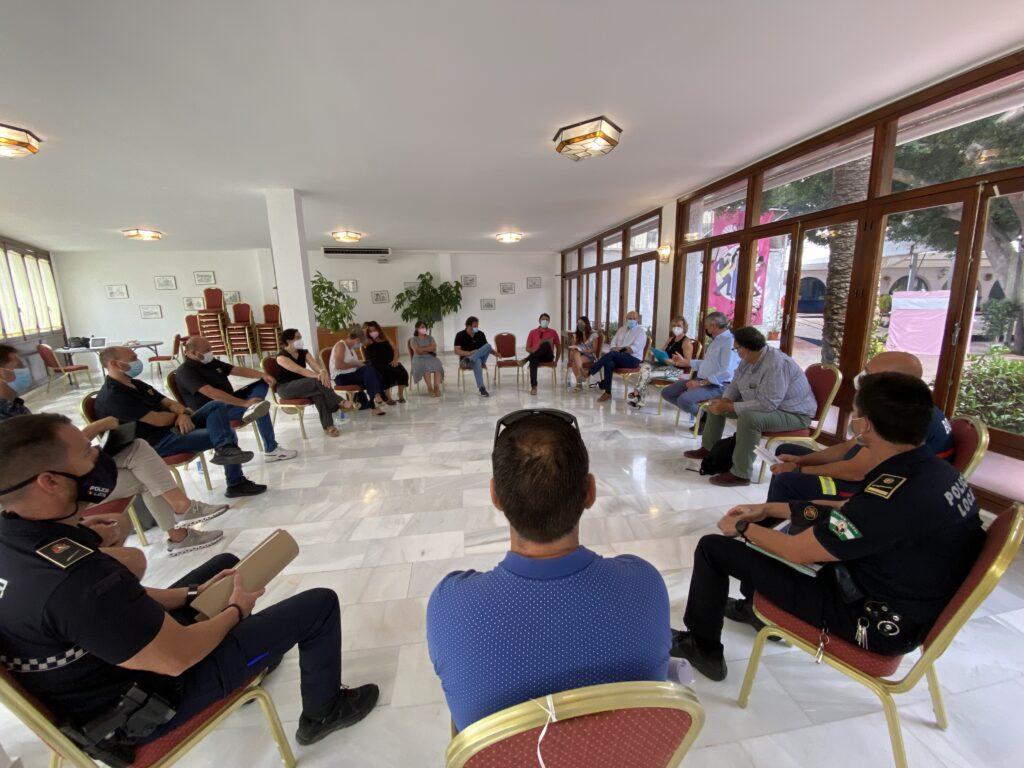 Reunión de coordinación plan de emergencias de Dalías.