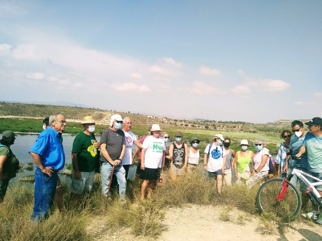 Movilización en El Salar de Los Canos