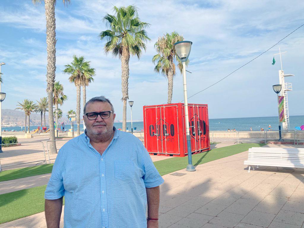 210903 Foto Manolo García, portavoz del PSOE en Roquetas de Mar