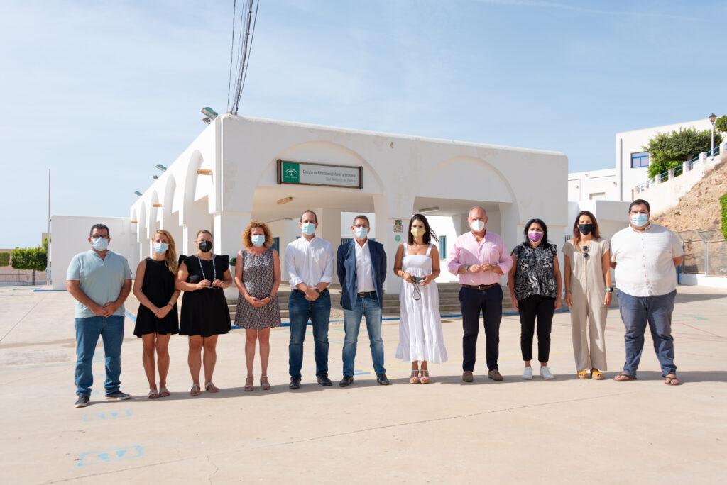 210907 Foto PSOE Sánchez Teruel con alcaldes y alcaldesas del Levante y otros dirigentes socialistas, en Carboneras (2)