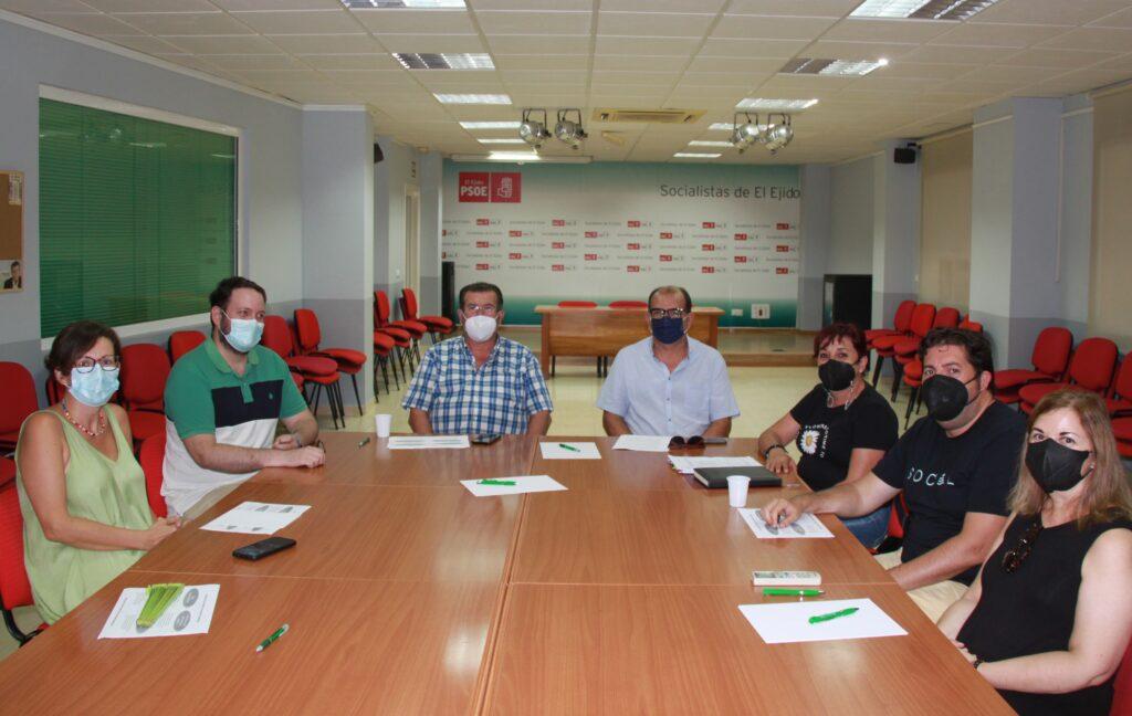 210908 Grupo de trabajo PSOE El Ejido