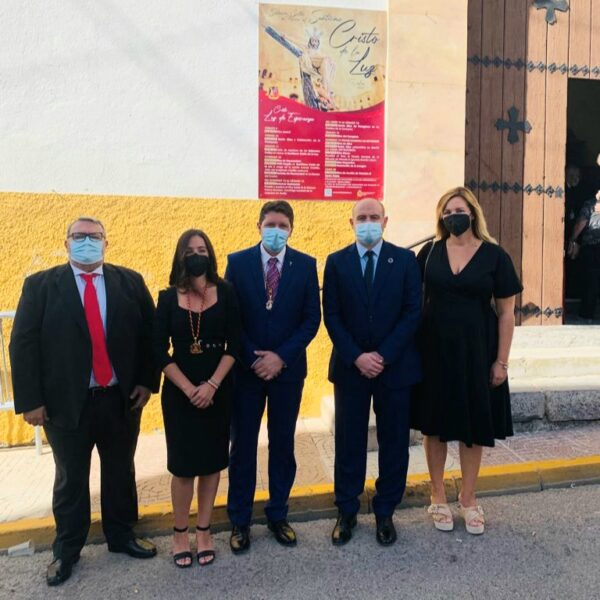 Manolo García, Cristina Gómez, Salvador Páez, Antonio Martínez y Teresa Piqueras