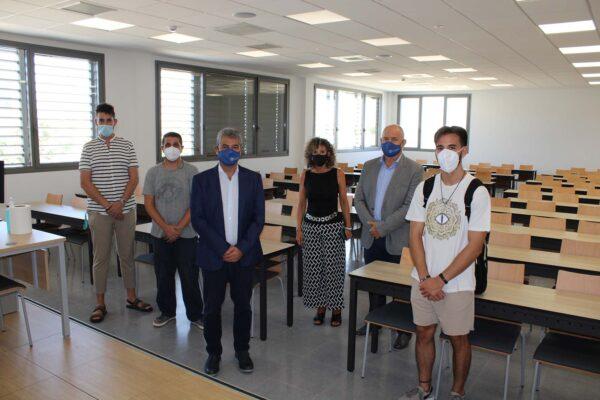 Inauguración del aula en Ciencias de la Salud