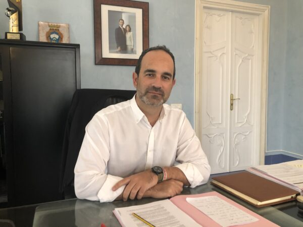 José Luis Amérigo, alcalde de Carboneras