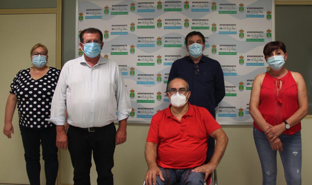 Concejales del Grupo Municipal Socialista en el Ayuntamiento de El Ejido