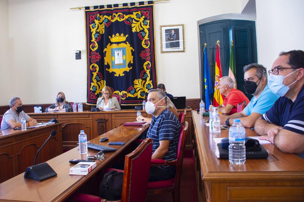 Pleno del Ayuntamiento de Níjar.