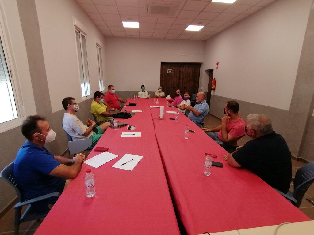 Reunión de los regantes de Almería con COAG.