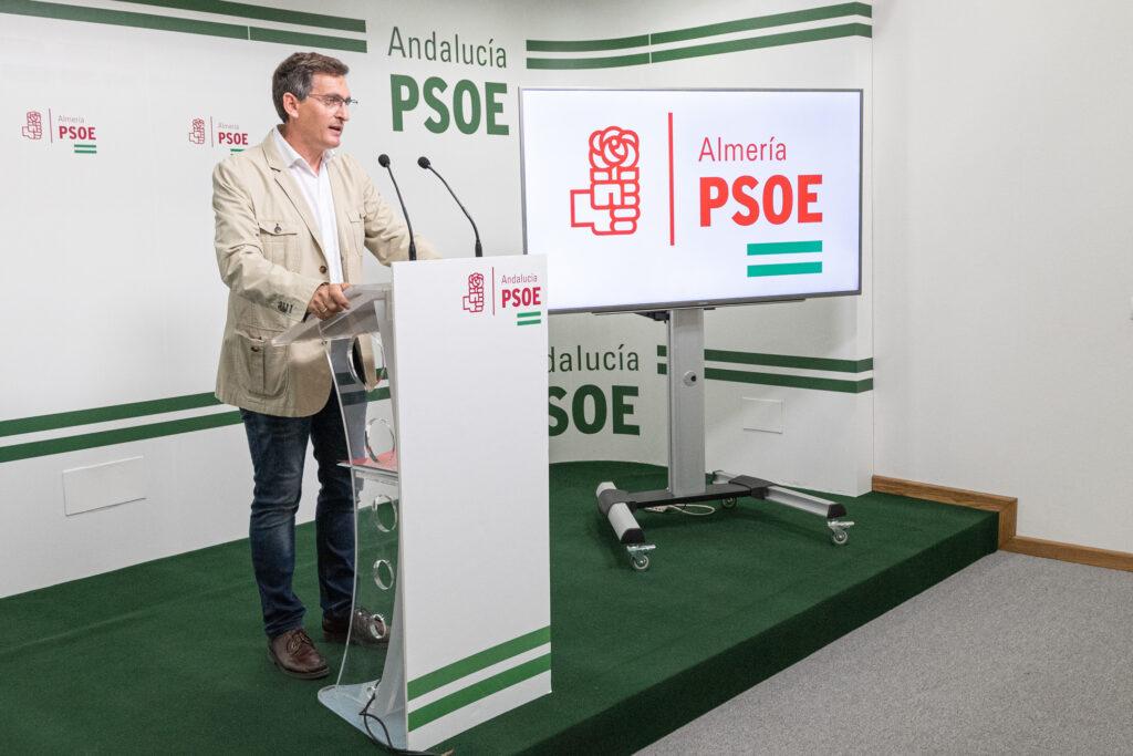José Luis Sánchez Teruel, secretario general del PSOE de Almería