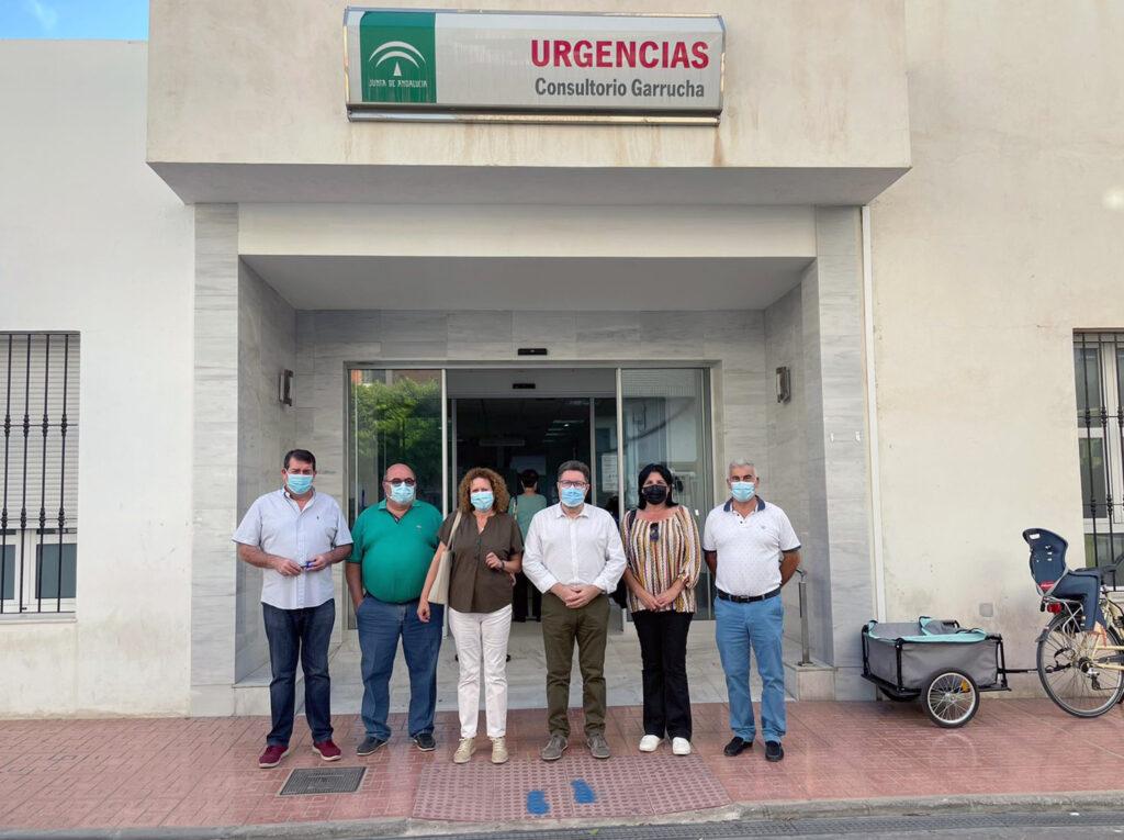 211018 Foto PSOE Rodrigo Sánchez junto a alcaldes, alcaldesas y concejales socialistas del Levante