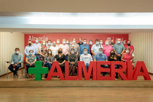 Delegados del PSOE de Almería al congreso regional del partido