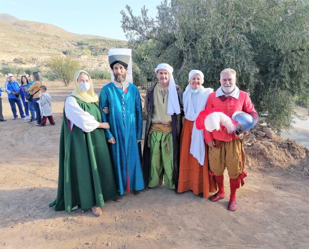 Participantes en la Recreación Histórica