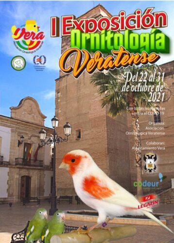 Cartel exposición ornitológica